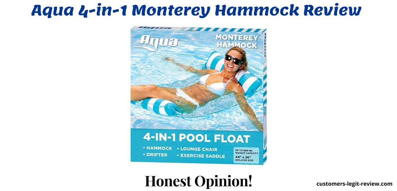 Aqua 4-in-1 Monterey Hammock Review