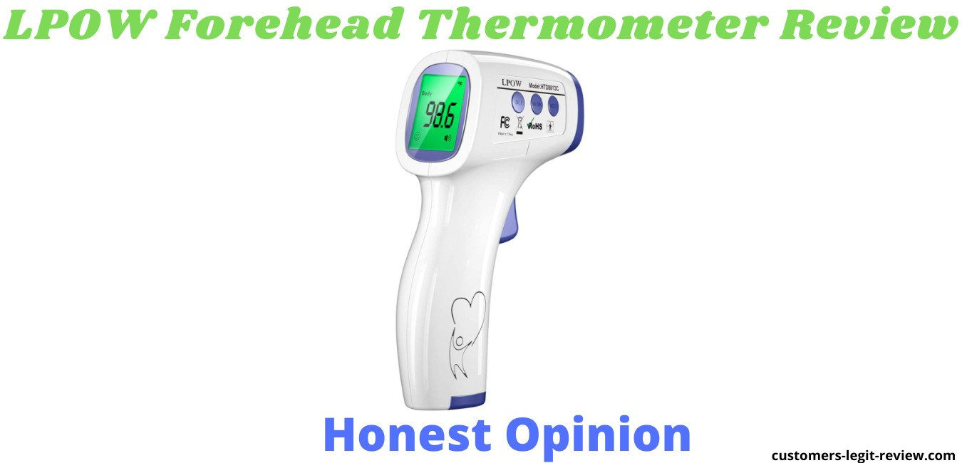 LPOW Forehead Thermometer Review