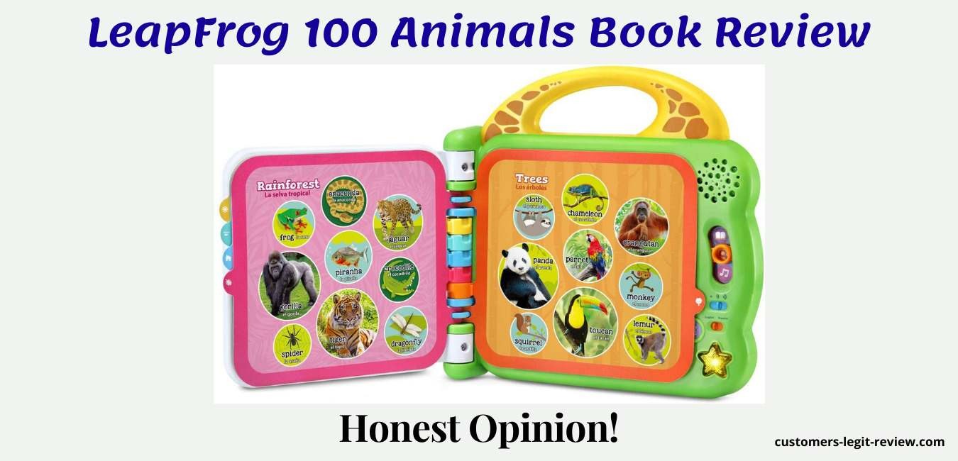 LeapFrog 100 Animals Book Review