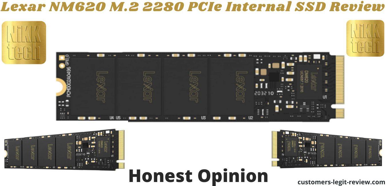 Lexar NM620 M.2 2280 PCIe Internal SSD Review