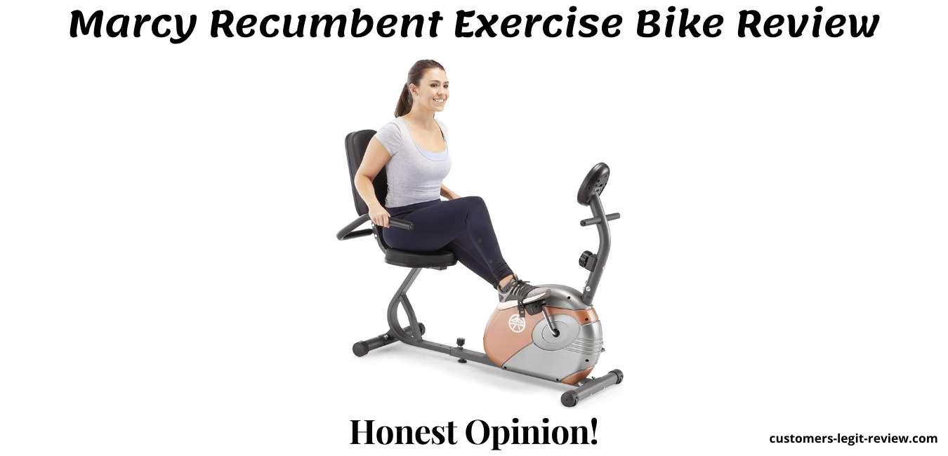 Marcy Recumbent Exercise Bike Review