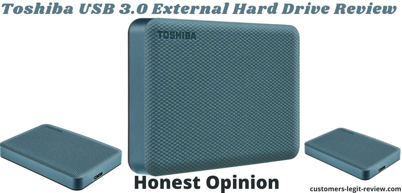 Toshiba USB 3.0 External Hard Drive Review