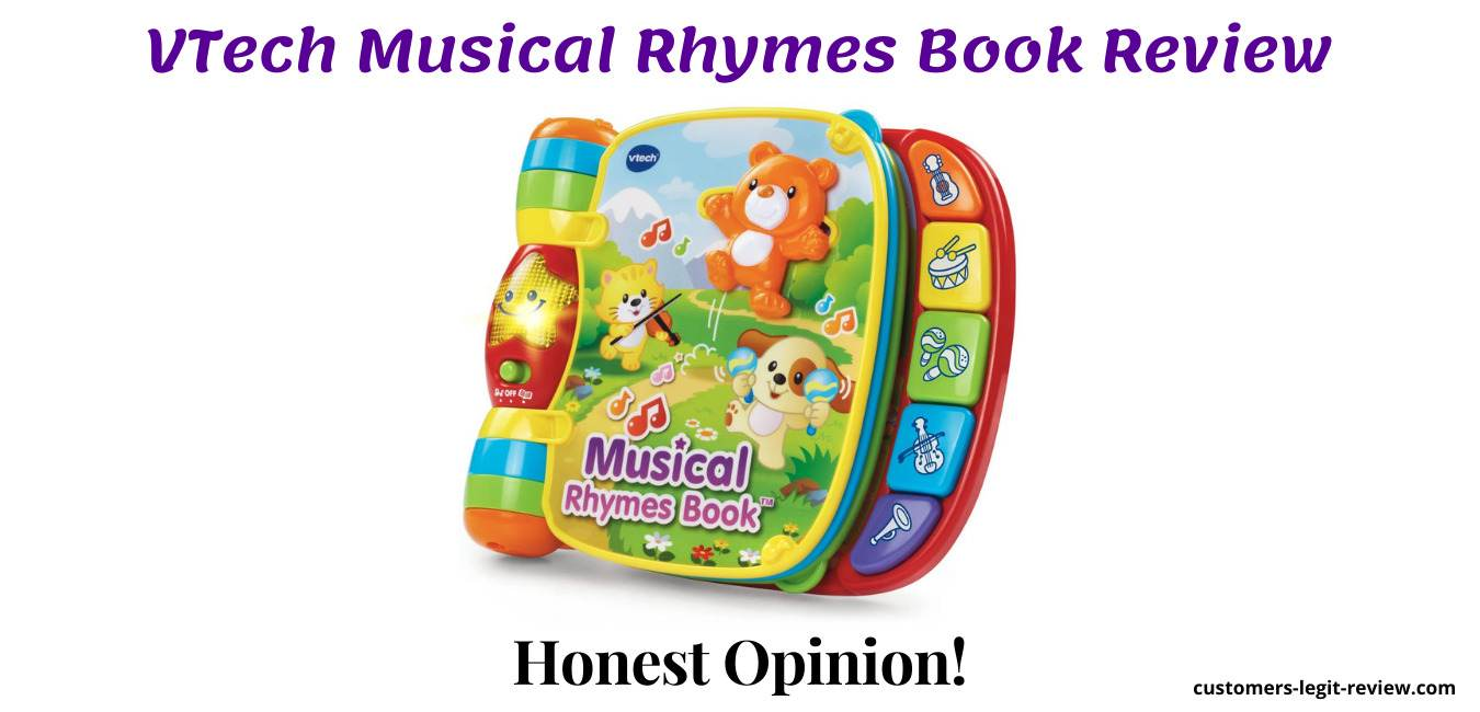 VTech Musical Rhymes Book Review