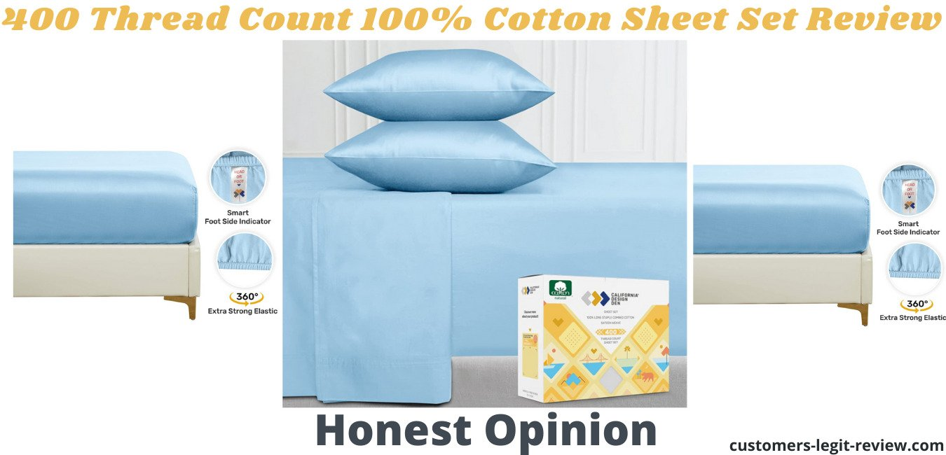 400 Thread Count 100% Cotton Sheet Set Review