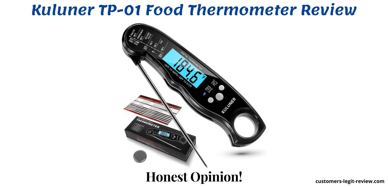 Kuluner TP-01 Food Thermometer Review