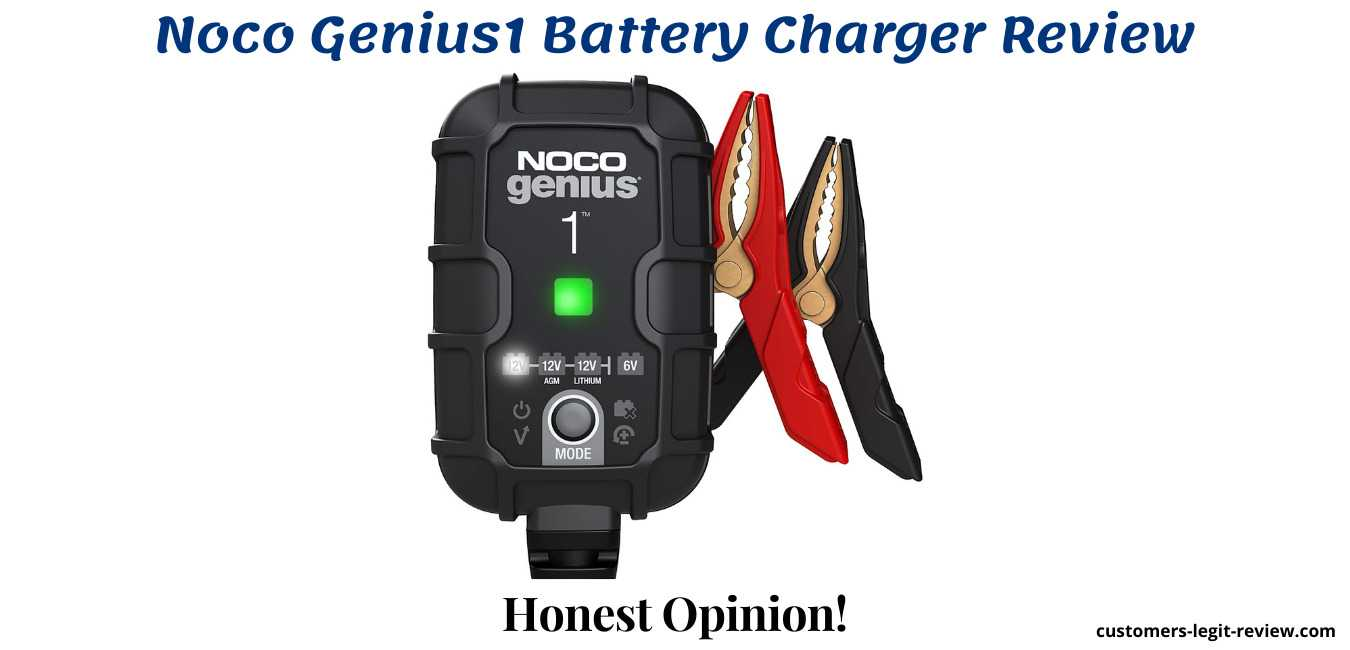 Noco Genius1 Battery Charger Review