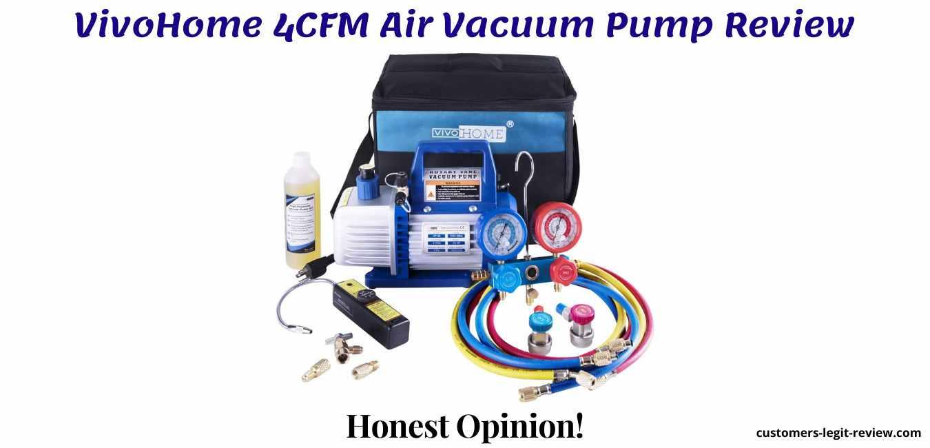 VivoHome 4CFM Air Vacuum Pump Review
