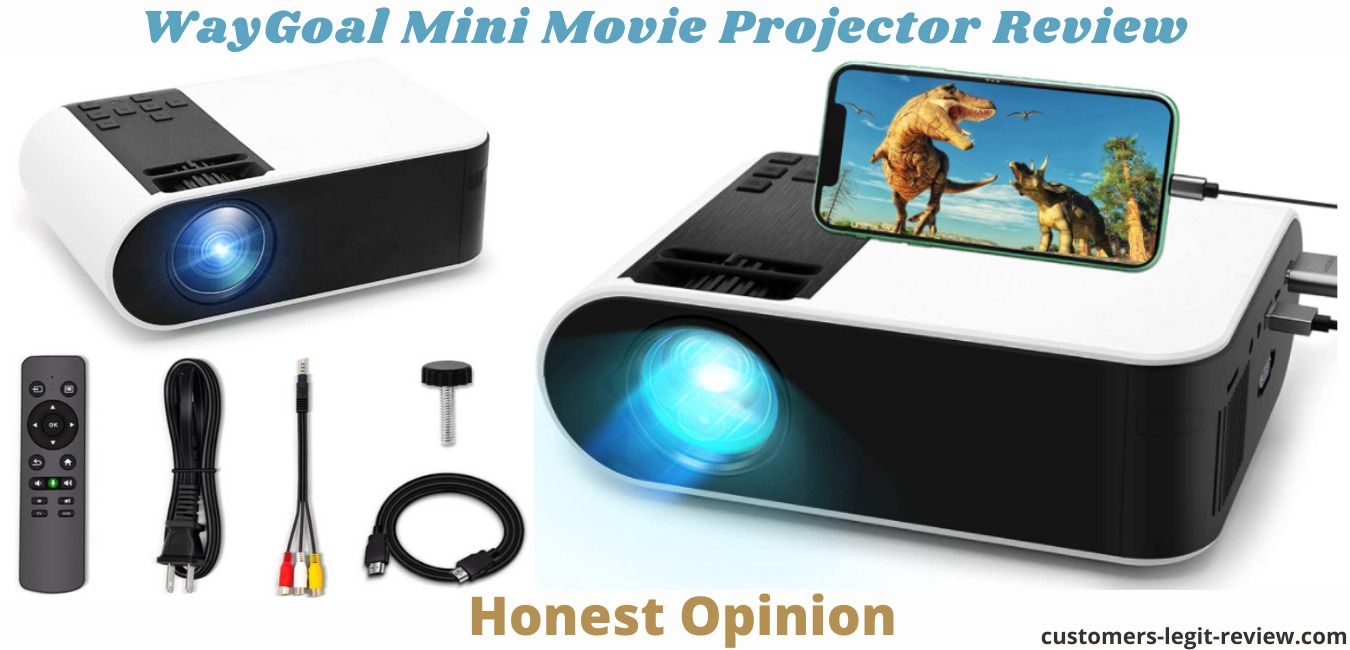 WayGoal Mini Movie Projector Review