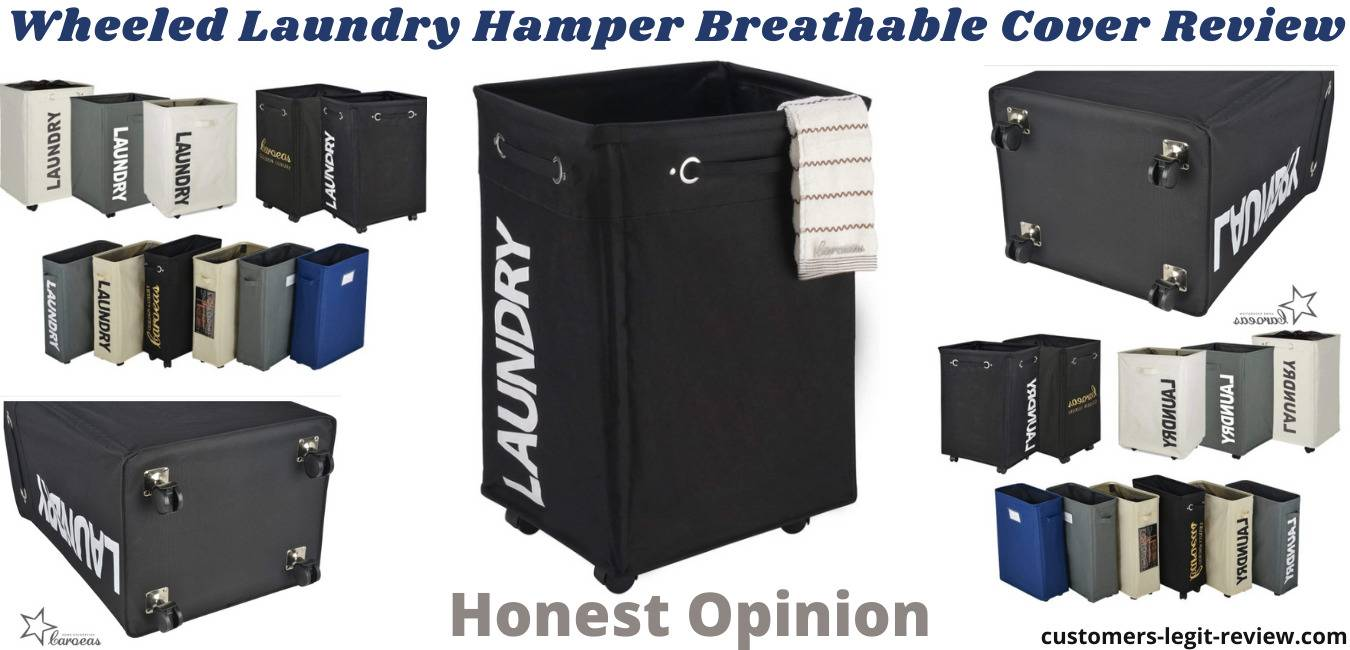 Wheeled Laundry Hamper Breathable Cover Review