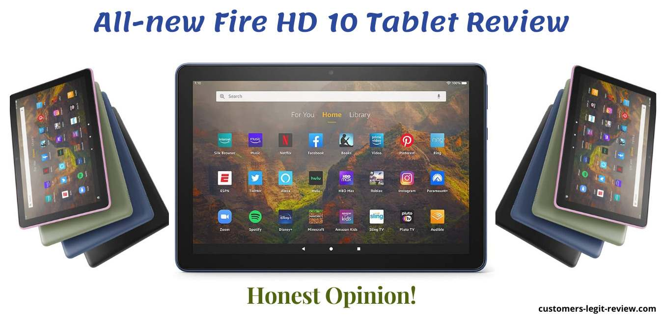 All-new Fire HD 10 Tablet Review