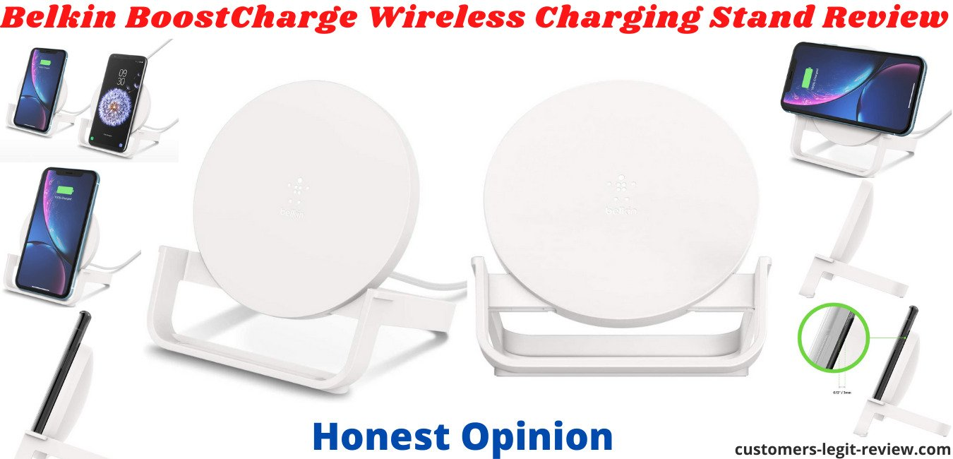 Belkin BoostCharge Wireless Charging Stand Review