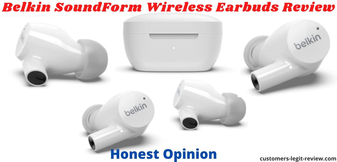 Belkin SoundForm Wireless Earbuds Review