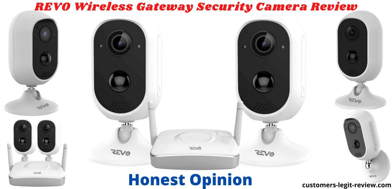 REVO Wireless Gateway Security Camera Review