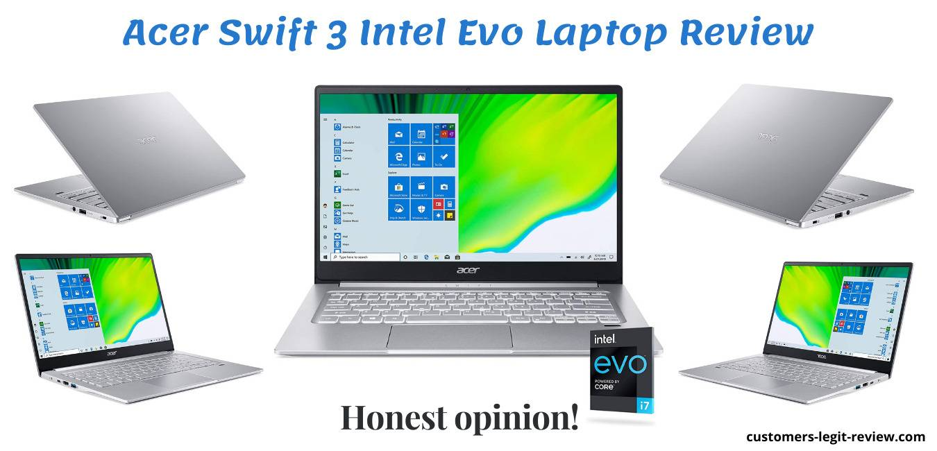Acer Swift 3 Intel Evo Laptop Review